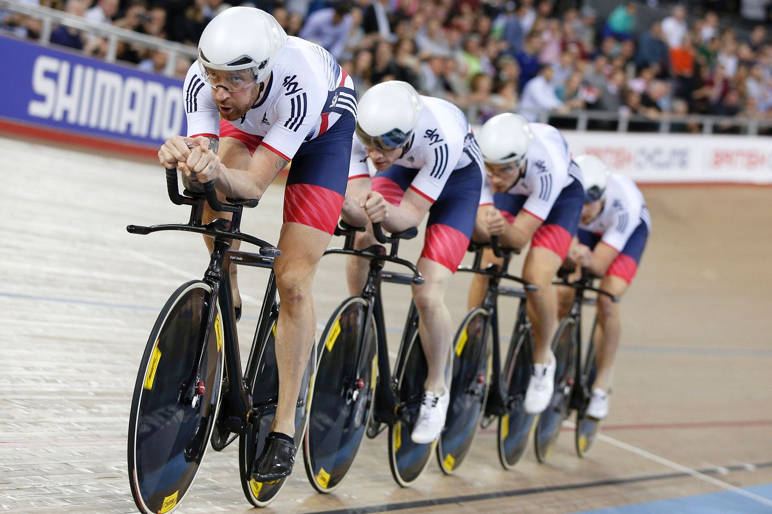 Why Team Great Britain Dominated Track Cycling At